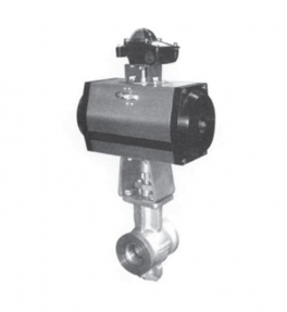 ZSHTVR.Y pneumatic V ball valve